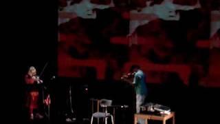 Tony Conrad, Genesis P Orridge, Morrison Edley - 7th piece (live at F Serralves)