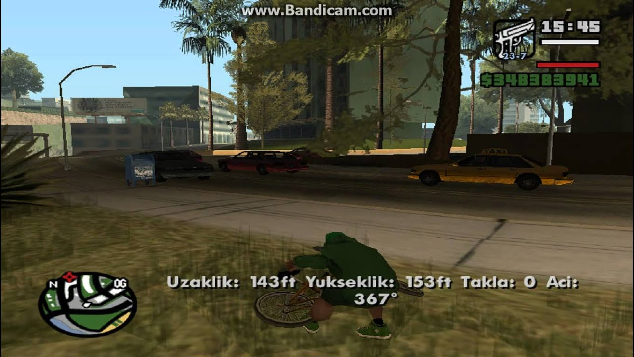 gta san andreas bisiklet hilesi - youtube