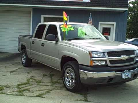 8465 2005 chevy pick up truck 4x4 silverado 31k 4 door used truck in dekalb near rochelle youtube. Black Bedroom Furniture Sets. Home Design Ideas