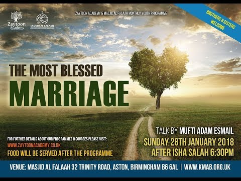 MONTHLY YOUTH EVENT - A BLESSED MARRIAGE