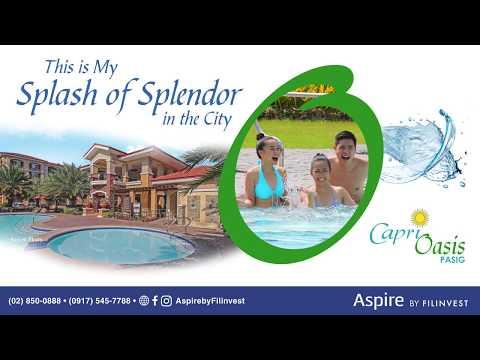 Aspire by Filinvest | Capri Oasis | Condo For Sale