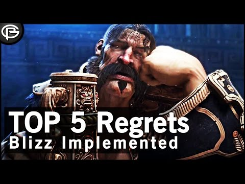 Top 5 - WoW Regrets