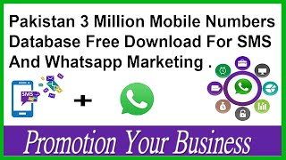 Mobile Number Database Free Download