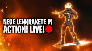 NEUE LENKRAKETE IN ACTION! LIVESTREAM! 🔴 | Fortnite: Battle Royale