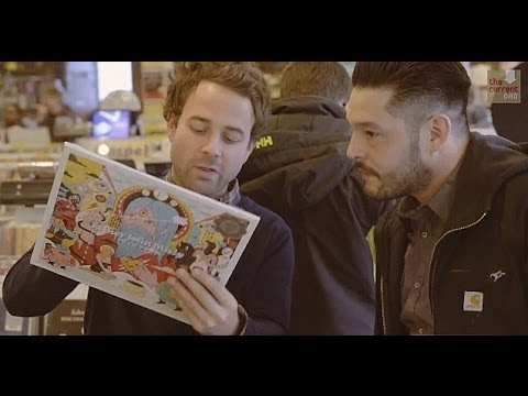 Dawes goes record shopping with one lucky fan
