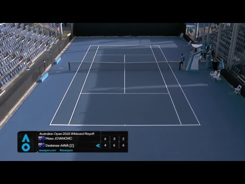 AO2018 Wildcard Play-off   Court 8   Day 2 thumbnail