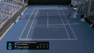 AO2018 Wildcard Play-off | Court 8 | Day 2