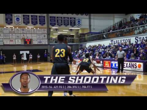 Charles Hill Highlights: 2016 Tarleton State