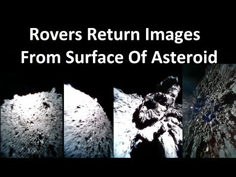 Japanese Asteroid Rovers Touch Down - Hayabusa 2 Update
