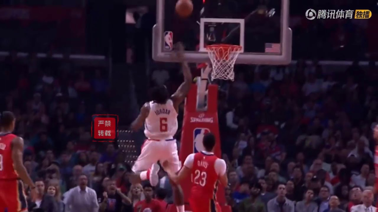 DeAndre Jordan with the Shaqtin' A Fool moment of the month!