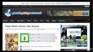 Wii U Internet Browser Demo