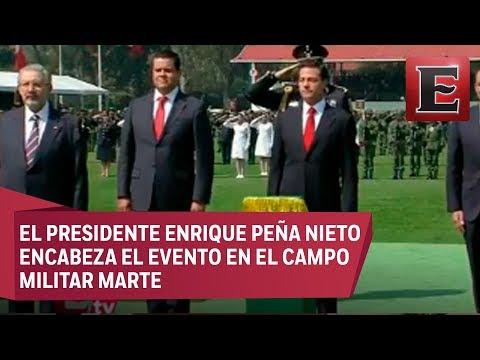 Conmemoración del Día de la Bandera de México