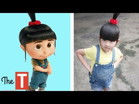 Thumbnail: 10 DESPICABLE ME Characters In Real Life