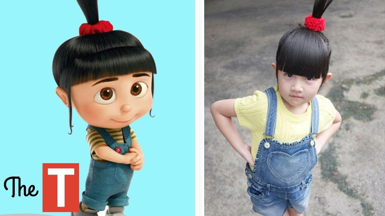 10 DESPICABLE ME Characters In Real Life  sc 1 st  YouTube & 10 DESPICABLE ME Characters In Real Life - YouTube