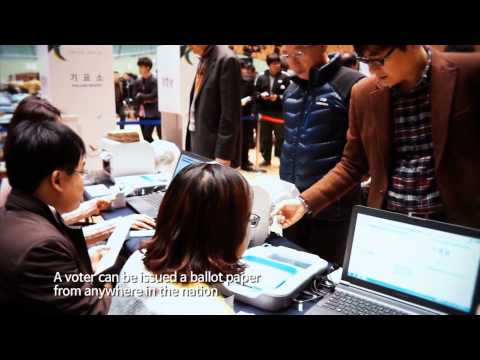 Election System and Management in Korea Video