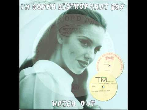UNKNOWN 60s GIRL - Watch Out - TUBA/MUNSTER
