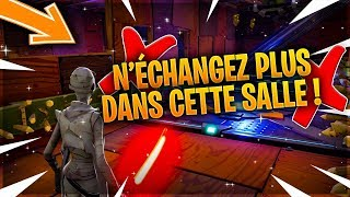 Don't trade in this exchange room anymore! (Prevention) - Save the World Fortnite