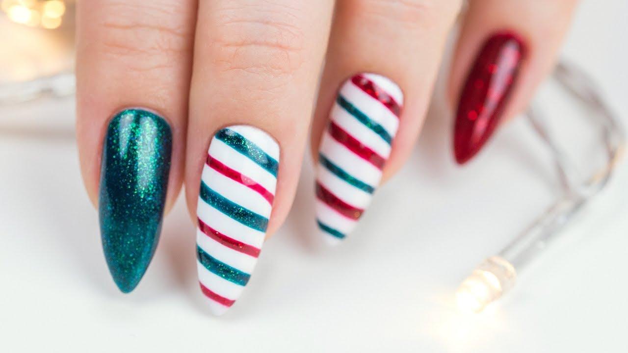 Super proste świąteczne zdobienie paznokci ♡ Red Lipstick Monster ♡