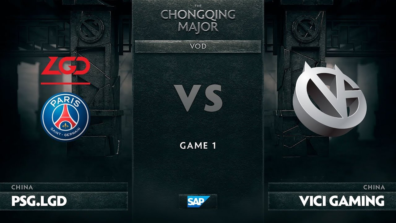 [EN] PSG.LGD vs Vici Gaming, Game 1, The Chongqing Major UB Round 1