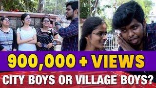 Chennai girls choice City boys or Village boys ? | Settai Sheriff | APV | IBC Tamil