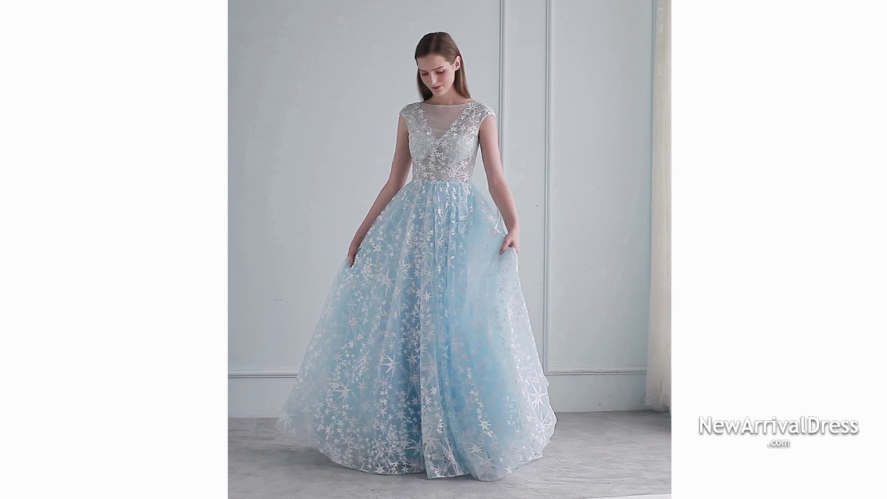 Summer Long Evening Gown - YouTube
