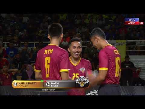 STL 2019: Johor Tigris lwn ATM Guardians | 2-0 | Astro Arena