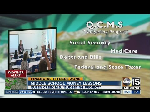 Middle school money lessons