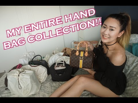 My Entire Bag Collection!! Contemporary + Luxury