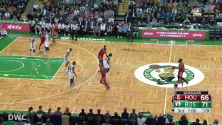 Al Horford Defense On Clint Capela, January 25, 2017