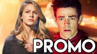 Supergirl Season 4 The Flash DCTV Promo - Episode Details Explained