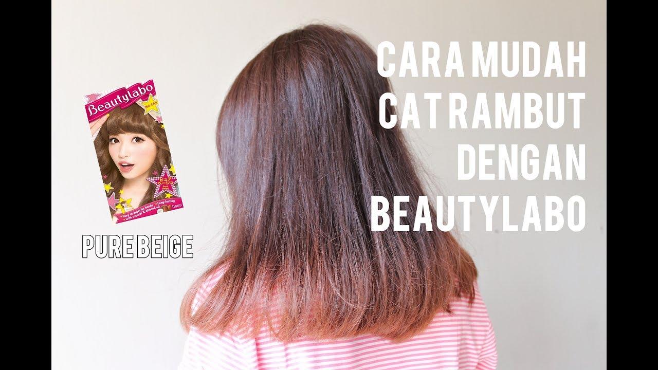 Tutorial Cara Mewarnai Rambut Sendiri Beautylabo Pure Beige How To Dye Your Own Hair
