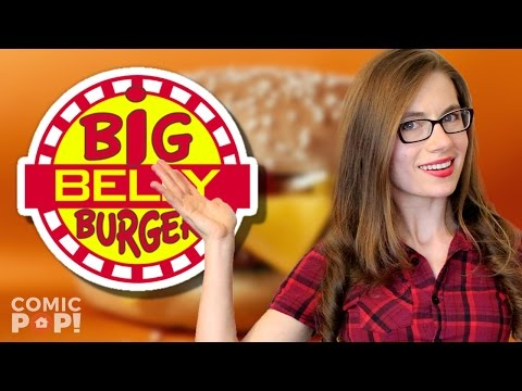 THE BIG BELLY BURGER FROM DC COMICS - MAKE YOUR OWN!   ComicPOP!