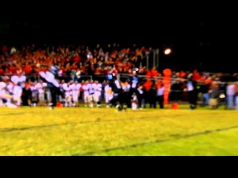 Nichols INT Quince Orchard/Westminster football 4A state semifinals 11/23/12