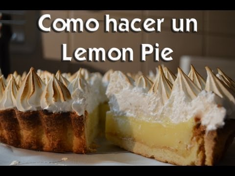 como hacer un lemon pie youtube