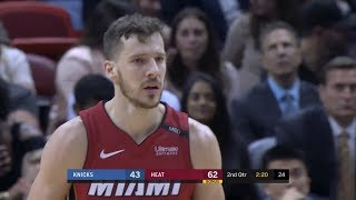 New York Knicks vs Miami Heat Full Game Highlights March 21 2018