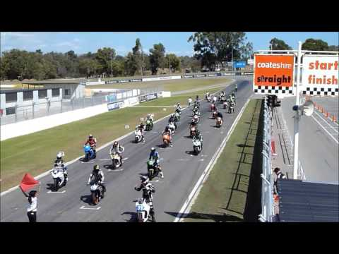 300-400CC Production Class Grid at Barbagallo Raceway