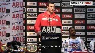 """Wladimir Klitschko to Haye: """"I"""
