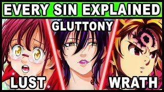 Every Character's Sin Explained! (Seven Deadly Sins / Nanatsu no Taizai)