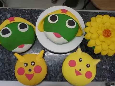 YouYee Bakery - กระทงขนมปัง 2    การ์ตูน   เรียนทำเบเกอรี่   ยูยีเบเกอรี่   You Yee