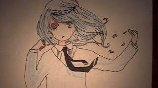 How to draw Hatsune Miku-Hirari Hirari