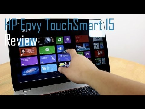 HP Envy TouchSmart 15 Full Review - Windows 8 Laptop