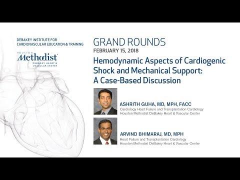Hemodynamic Aspects of Cardiogenic Shock: Case-Based Discussion (GUHA MD, BHIMARAJ MD ) Feb 15, 2018