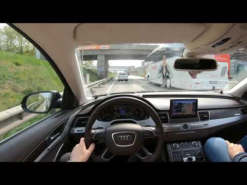 Audi A8 D4 Long 4k Day And Night Drive (self Drive Mod On Min 11)