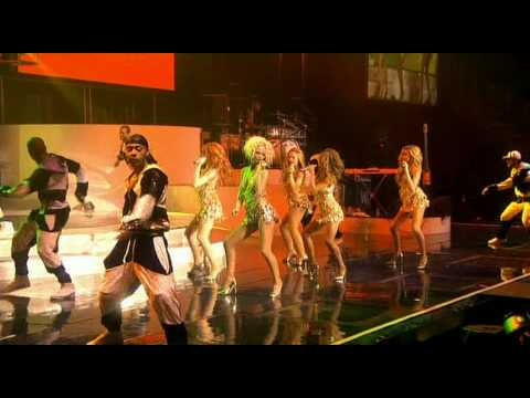 Girls Aloud - Control Of The Knife/Trick Me - HD [Tangled Up Tour DVD]