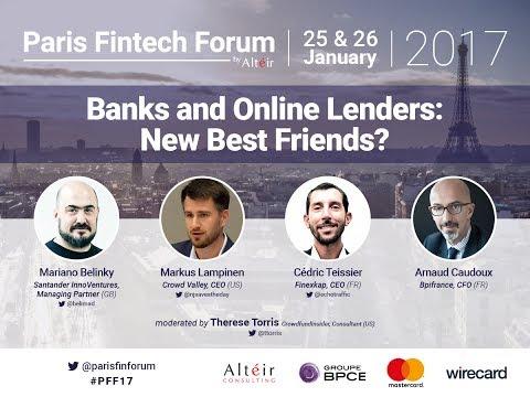 Banks and Oline lenders - new best Friends?  - Full