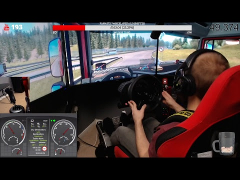 Euro Truck Simulator 2 / day 22 career mode