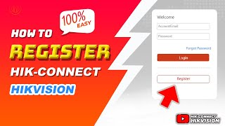 How To Register Hik Connect Online Hikvision