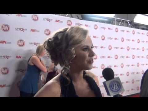 Download 2012 AVN AWARDS Show red carpet interviews with 12 top adult female film stars