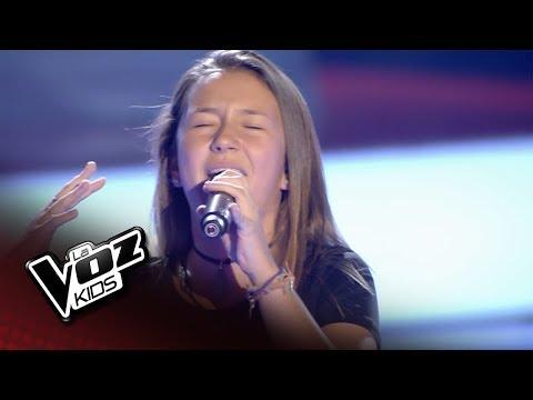 "Alexia: ""Ya Me Enteré"" – Audiciones A Ciegas  - La Voz Kids 2018"