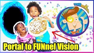 We Opened A Portal To FUNnelVision... It Worked ...OMG.. FGTeeV